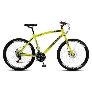Bicicleta Colli Bike Cb 500 Aro 26 Rígida 18 Marchas - Amarelo