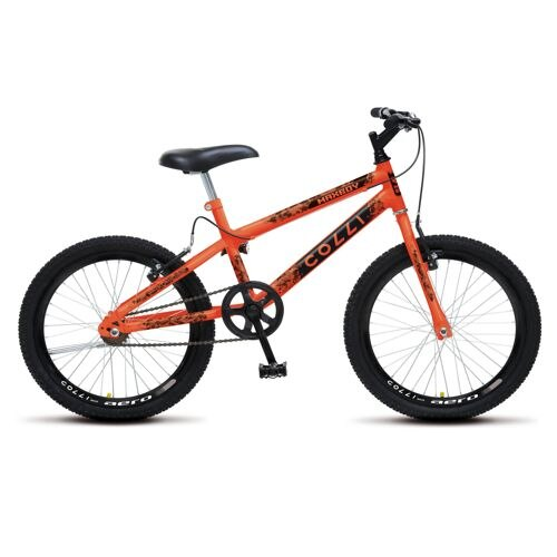 Bicicleta Colli Bike Max Boy Aro 20 Rígida 1 Marcha - Laranja