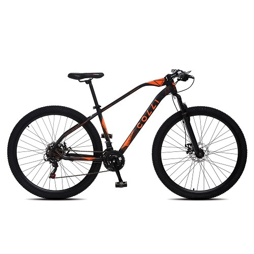 Bicicleta Colli Bike Duster Aro 29 Susp. Dianteira 21 Marchas - Laranja/preto